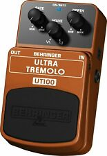 Behringer Ultra Tremolo UT100 Guitar Effect Pedal NEW & SEALED