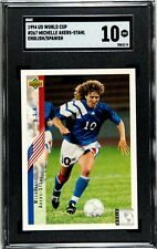 1994 Upper Deck World Cup Michelle Akers-Stahl ENG/SPA USA No.267 SGC 10 🔥