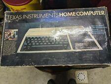TI-99/4A Home Computer no accessories