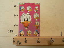 STICKER,DECAL SHEET WITH STICKERS DISNEY INTRODUCT THAT'S DONALD