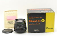 【MINT Boxed】 Mamiya Sekor C 65mm F/4.5 MF Lens For RB67 Pro S SD from JAPAN 953