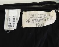 Maison Martin Margiela 1990 distressed  organza lap skirt Original Archival