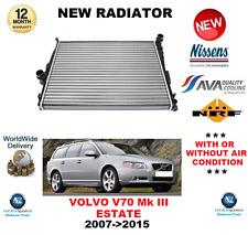 FOR VOLVO V70 ESTATE RADIATOR 2007->2015 Mk III 2.0 FLEXIFUEL D ** OE QUALITY **