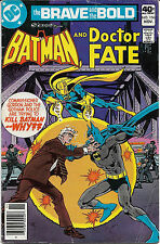 Fine The Brave and The Bold Starring Batman and Doctor Fate No 156 November 1979