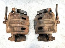 MITSUBISHI LANCER RALLIART 2.0 4B11T - FRONT BRAKE CALIPERS AND CARRIERS - PAIR