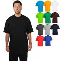 Urban Classics Tall Tee TB006 T-Shirt lang Übergröße Baumwolle Basic Rundhals