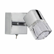 Searchlight Silver Modern 1-3 Wall Lights