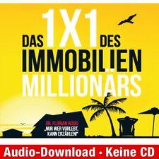 Hörbuch-Download (MP3) ★ Florian Dr. Roski: Das 1x1 des Immobilien Millionärs