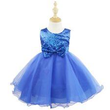 Bebé Niñas Vestido de Princesa Traje de Boda Ceremonia Cumpleaños Fiesta Bautizo
