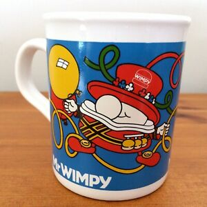 Mr Wimpy Vintage Mug Beefeater Wimpy Burger 1980s Collectors Mug Made in England
