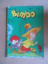 BIMBO n°101 1961 - Fumetto Comics  francese [G391] Mediocre