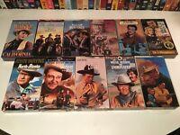 John Wayne New Sealed Classic Western VHS Lot of 11 Rio Bravo North To Alaska +