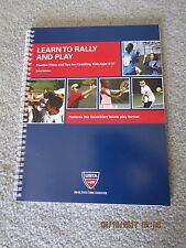 Learn to Rally and Play -  Coaching Kids Tennis - 2  Books