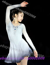 Ice skating dress.Pretty Competition Figure Skating Dress/Baton Twirling Costume