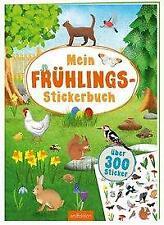 Mein Frühlings-Stickerbuch - 9783845835563