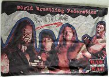 WWF WAR IS RAW ATTITUDE Pillowcase Sham 1999 Vintage World Wrestling Federation
