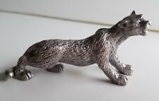 WHOLESALE...Pewter Cheetah Figurine (Lot of 5)