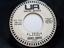 AL CAIOLA - Bonanza / Bounty Hunter PROMO 1961 Pop United Artists