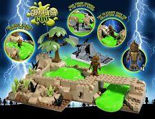 Character Building MVZ Monsters vs Zombie Bestia dal Bayou PLAYSET 04329