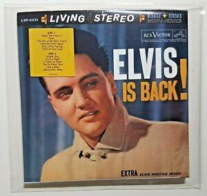 ELVIS PRESLEY : ELVIS IS BACK (Gatefold as 1960 LP) ★ remastered CD ★