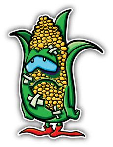 Corn Funny Cartoon Car Bumper Sticker Decal  ''SIZES''