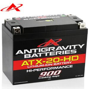 NEW Antigravity Batteries ATX20-HD 900CCA Heavy Duty YTX-20 Lithium Ion Battery