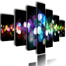 """HUGE EXTRA LARGE ABSTRACT CANVAS PICTURES WALL ART SPLIT MULTI PANEL IMAGE 80"""""""