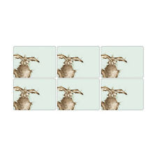 Wrendale Set of 6 Hare Placemats