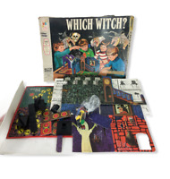 Vintage 1970 Which Witch Board Game Milton Bradley Nearly Complete