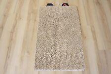 Tappeto da bagno pietra beige chiaro 60x100 cm soffice