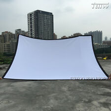Outdoor Home KTV Movie Cinema Theater HD Projector Screen 300 Inch 4:3