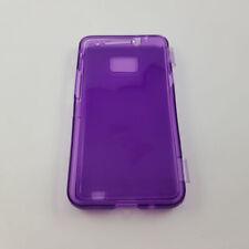 Samsung Galaxy S2 I9100 Purple Silicone Case