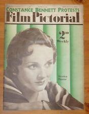 FILM PICTORIAL Vol III No 56 18TH MAR 1933 BENITA HUME FRONT COVER
