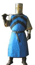 Medieval Black&Blue Knight Tunic Surcoat Crusader Sleeveless