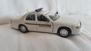 Road Champs Upland Police Department Diecast Vehicle 1:43 Scale 1999