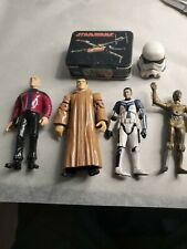 lot of 6 star wars figures used good condition  J