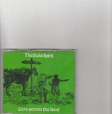 Duke Spirit- Cuts Across the Land UK promo cd single