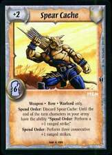 Warlord CCG - Warlord Saga of the Storm: Spear Cache (Rare Item SK)