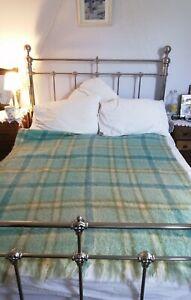 Vintage Heather Brae Mohair Rug Blanket Scotland