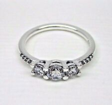 Authentic Pandora #196242CZ-52 Fairytale Sparkle Ring with Clear CZ Size 6