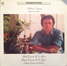 Audiophile QUADRAPHONIC LP NEWMAN Plays Conducts Bach Haydn Columbia 1973