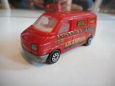 Majorette Fourgon VW Volkswagen transporter T4 in Red