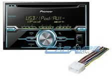 NEW PIONEER DOUBLE 2 DIN CAR STEREO RADIO CD PLAYER W/ AUX INPUT AND INSTALL KIT