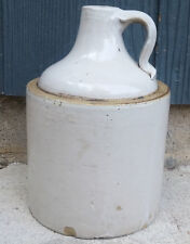 Antique Vintage Red Wing 1/2 Gallon Bottom Signed Minnesota Stoneware Whisky Jug