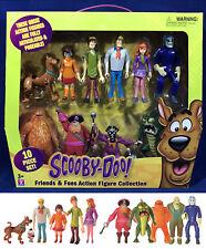 NEW - Scooby Doo FRIENDS & FOES 10 Action Figures GHOST RACER Redbeard VILLAINS