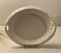 "Vintage 1970 ""Give Us This Day Our Daily Bread"" Plate Serving Tray Platter"
