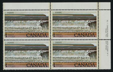 Canada 726 TR Block Plate 1 MNH Fundy National Park