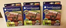 Smithsonian Mini Motorized Brachiosaurus 3D Puzzle Bundle Pack Of 3! Save Money!