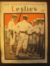 Leslie's Weekly Mag, March 1, 1917 –WW I US Navy, Verdun, Packard trucks