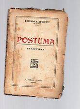 lorenzo stecchetti ( mercurio ) n-  postuma - edizione barion 1925